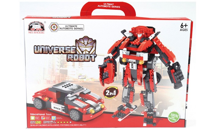 Le Gao Building Blocks Universe Robot No.81006