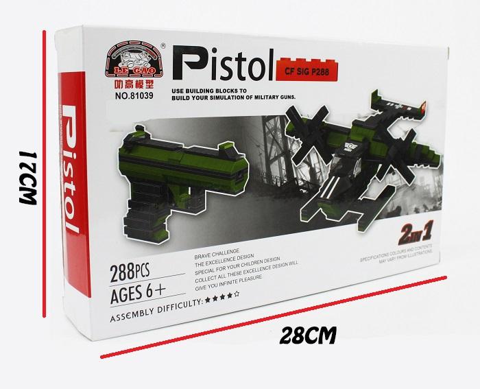 Le Gao Building Blocks Pistol Revolver No.81039
