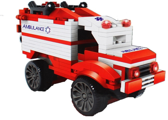 Le Gao Building Blocks Universe Robot No.81009 (First Aid)