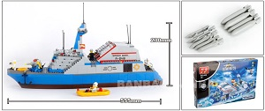 BanBao Blocks & Building Toys Stealth Missile Boats No.8248