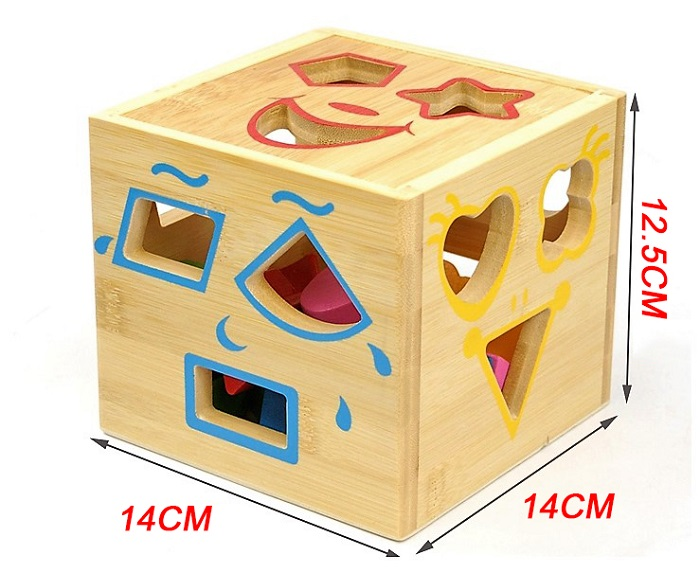 Baby Early Learning Education Toys Wooden Building Block Toddler Toys