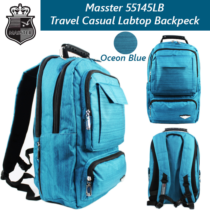 Masster 55145LB Super Comfort Travel/ Leisure/ Labtop Backpack