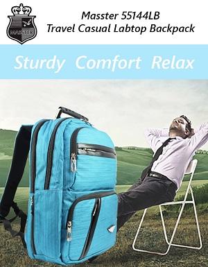 Masster 55144LB Super Comfort Travel Leisure Labtop Backpack