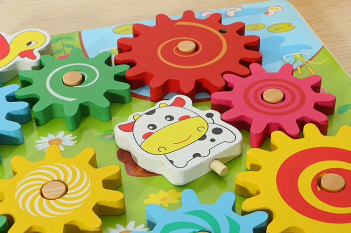 Wooden Board Gear Games Portfolio