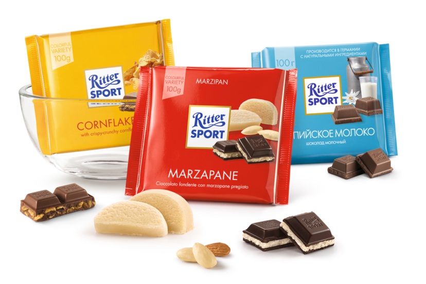Ritter Sport Mini 6 Varieties Flavour Chocolate 250g (15Pcs)