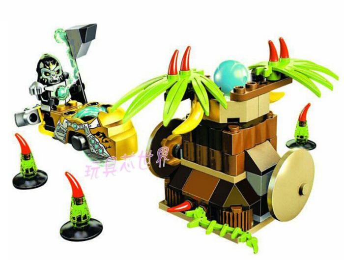 Bela No.10080 Chimo Gorzan Blocks & Building Toys