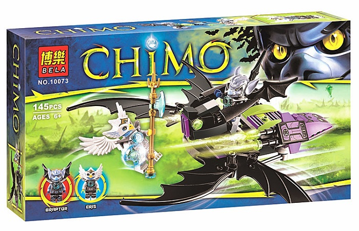 Bela No.10073 Chimo Braptor & Eris Blocks & Building Toys