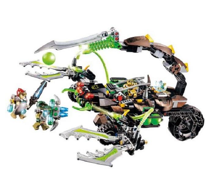 Bela No.10077 Chimo Scorm/ Cragger/ Laval Blocks & Building Toys