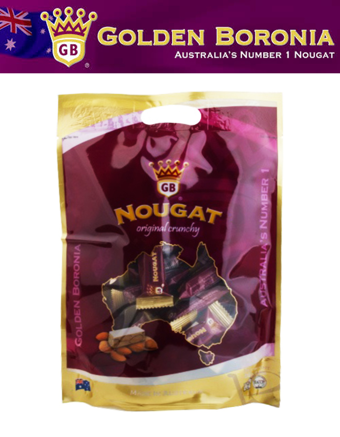 Golden Boronia Nougat Original Crunchy 100G / 250G