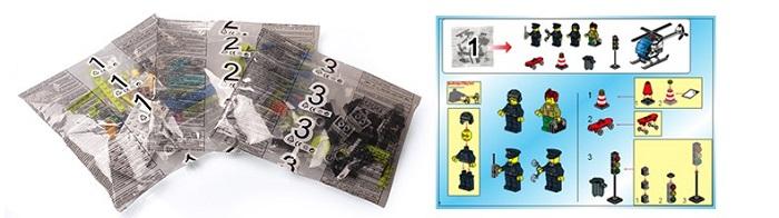 Enlighten City Series Hoghway Pursyit Blocks & Building Toys No.1117