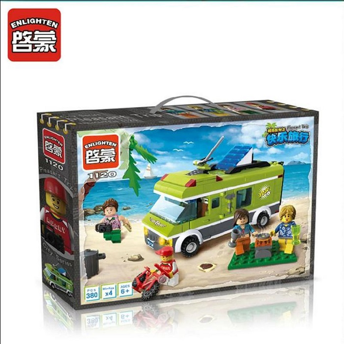 Enlighten City Series Pleasant Trip Blocks & Building Toys No.1120
